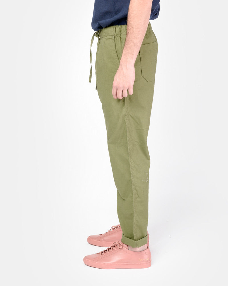 Beach Pant in Olive SMOCK Man - Mohawk General Store