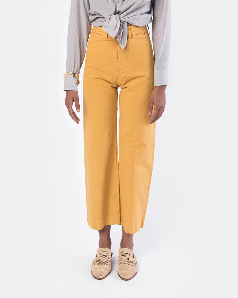 Sailor Pant in Caribbean Gold