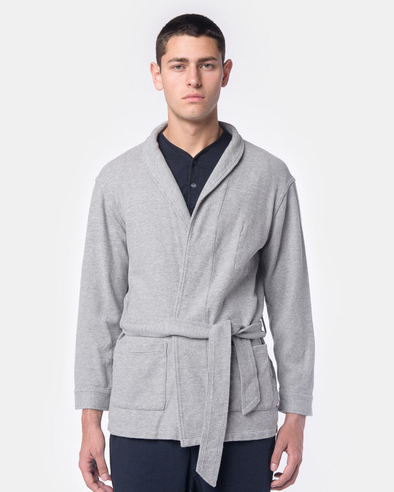 Ginza Robe in Grey by SMOCK Man at Mohawk General Store