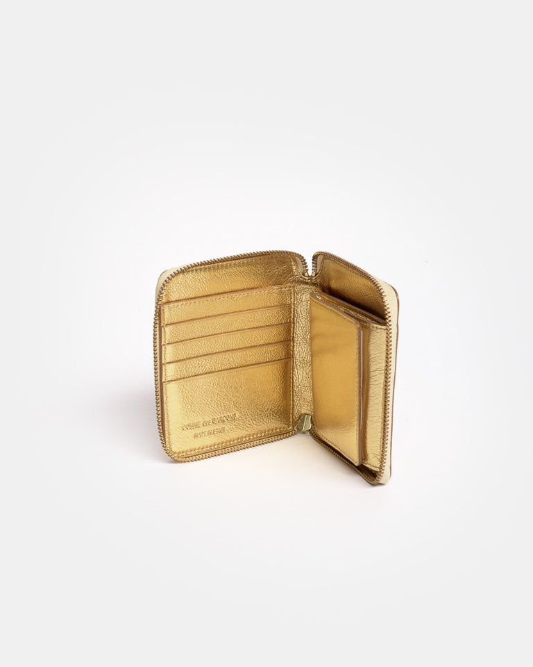 Wallet in Gold