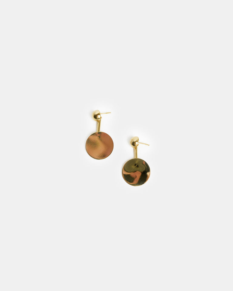 Nora Earrings in Gold Vermeil