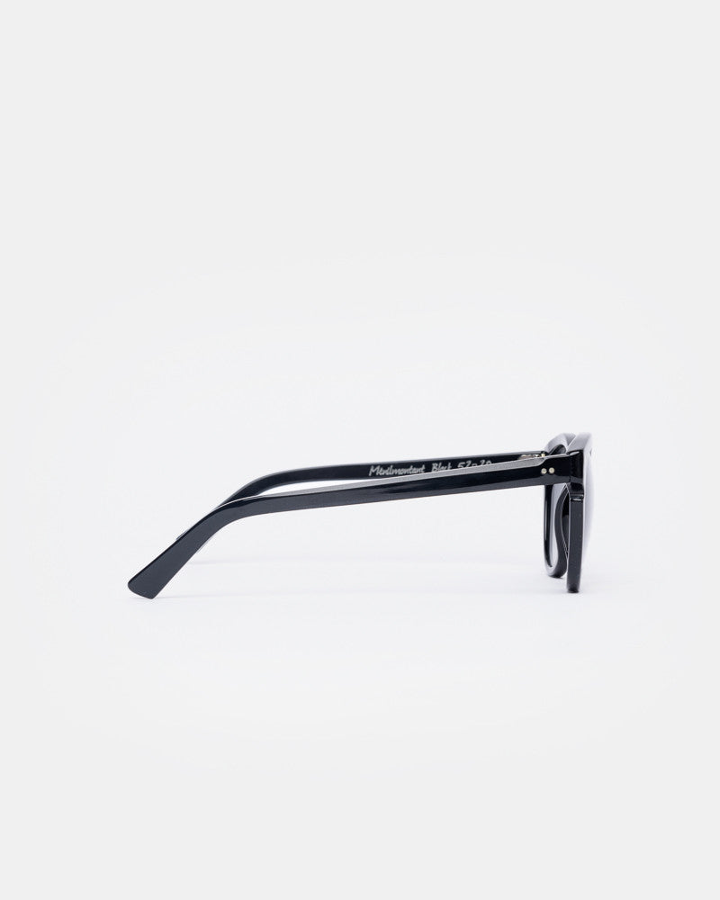Menilmontant Sunglasses in Black by Ahlem- Mohawk General Store