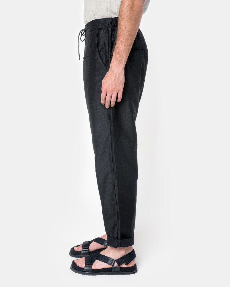 Amalfi Pant in Black by SMOCK Man- Mohawk General Store