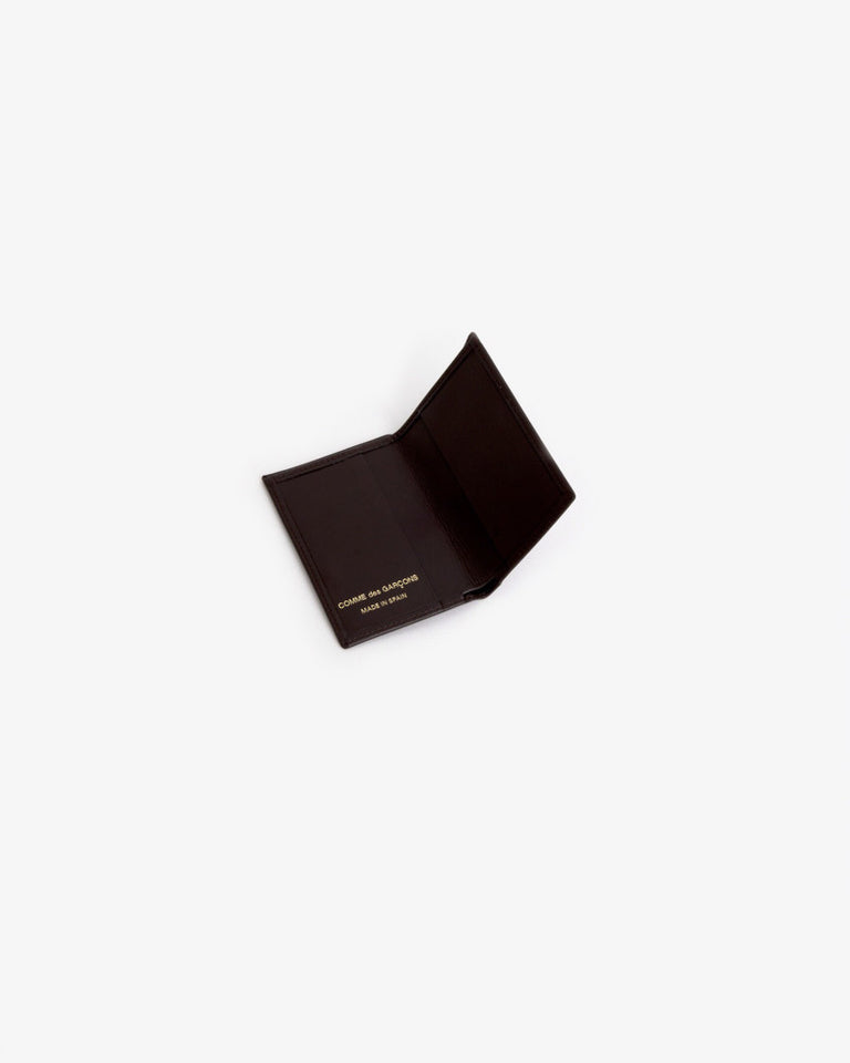 Classic Leather Line Wallet in Brown