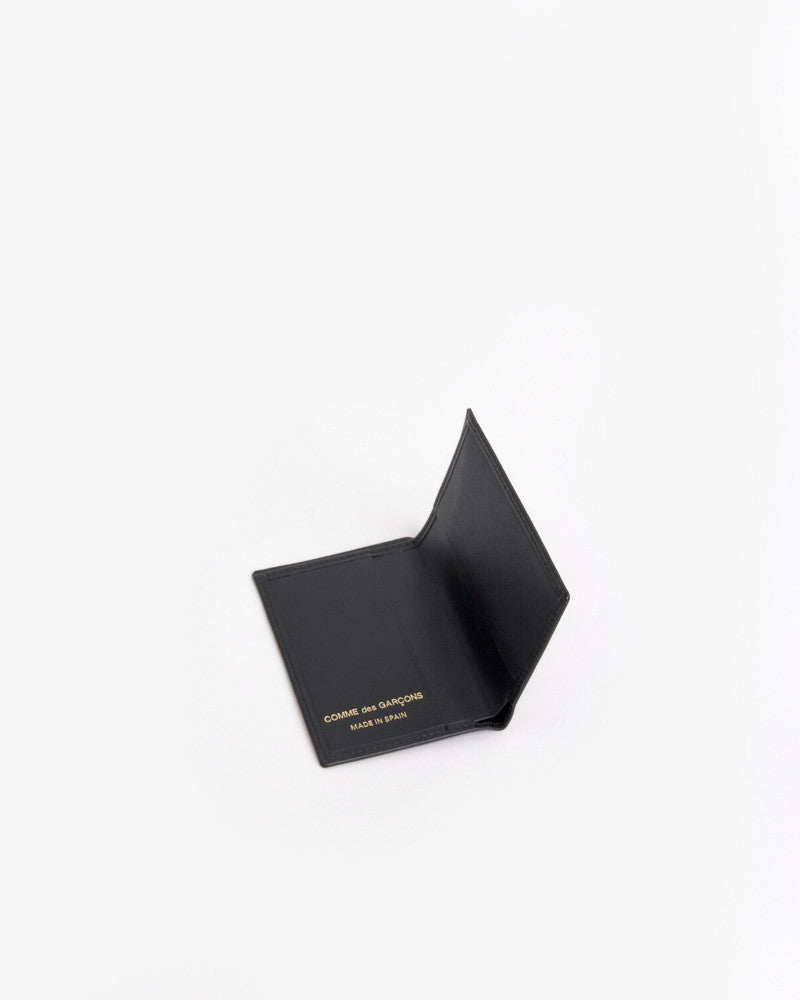 Classic Leather Line Wallet in Black by Comme des Garçons at Mohawk General Store - 2