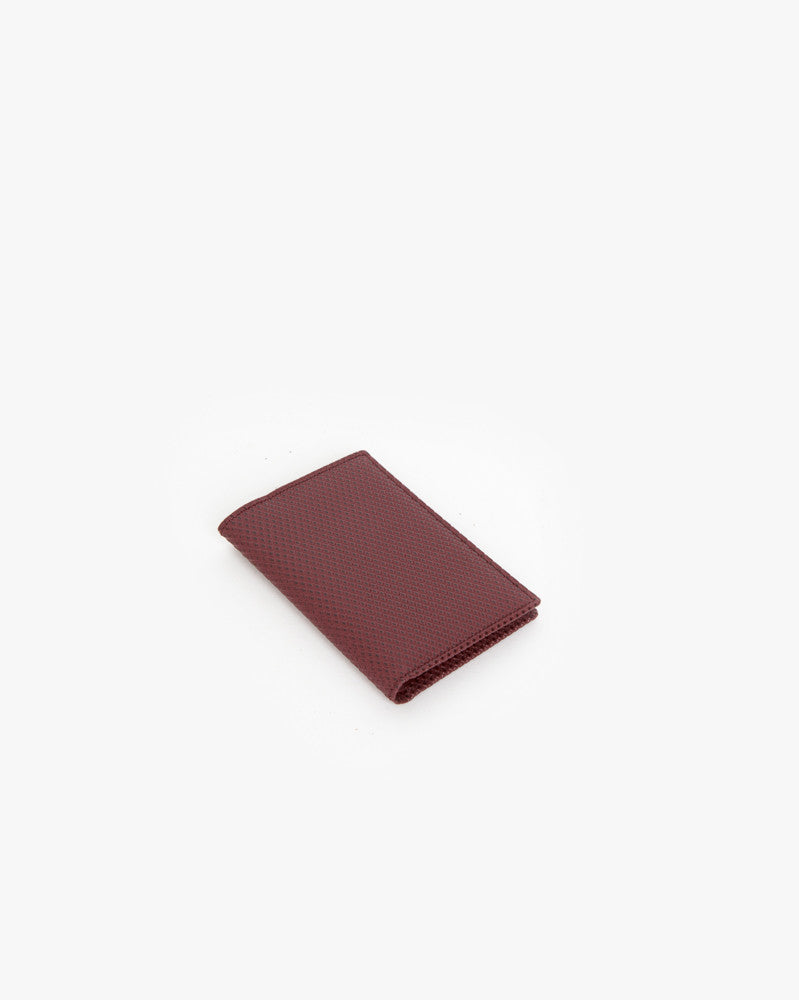 Bifold in Burgundy by Comme des Garçons at Mohawk General Store - 1