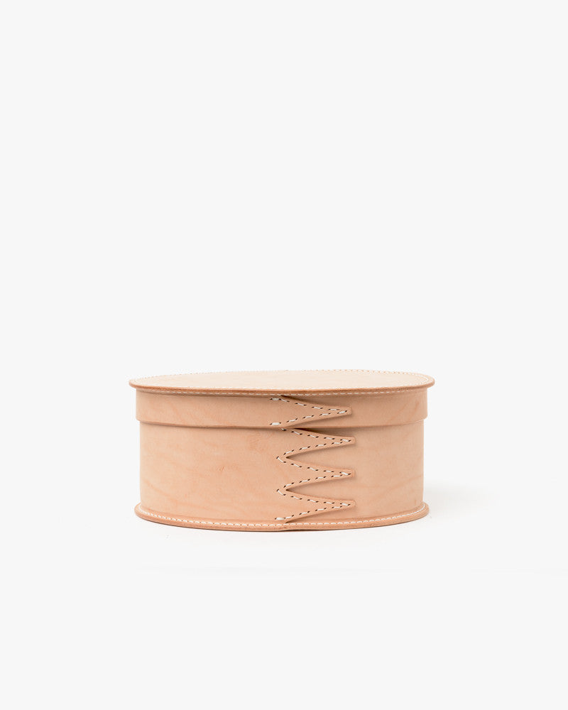 Medium Shaker Oval Box in Natural by Hender Scheme at Mohawk General Store - 1