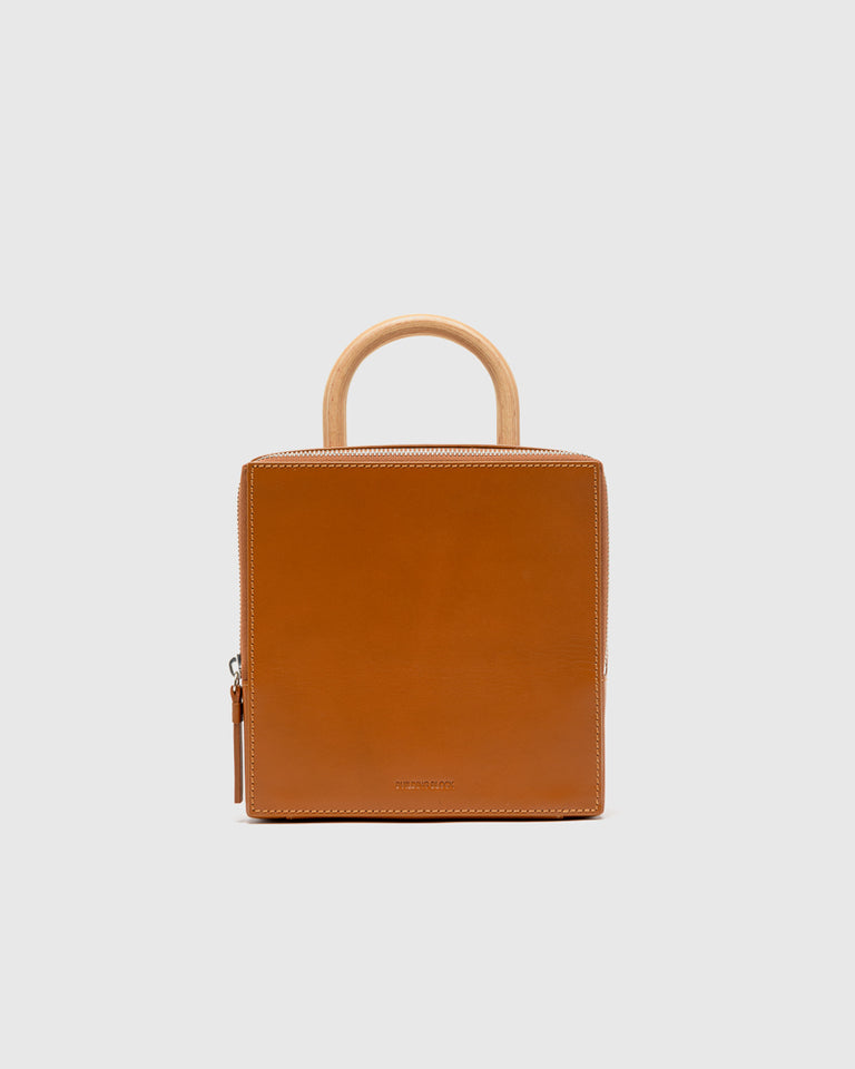 Box Bag in Chestnut