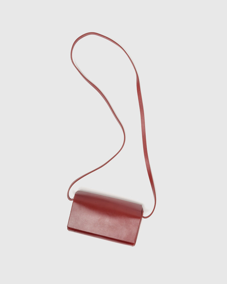 Petite Side Bag in Cognac