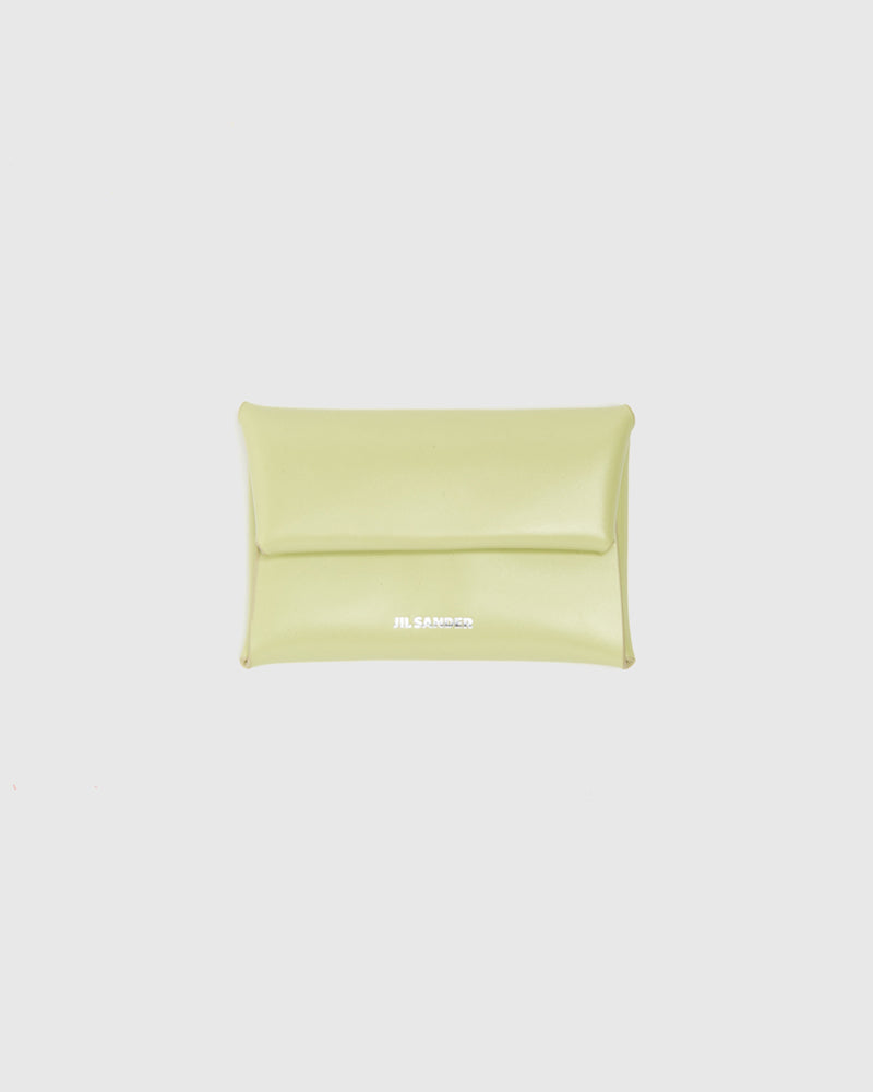Folded Coin Purse in Pistacchio by Jil Sander at Mohawk General Store