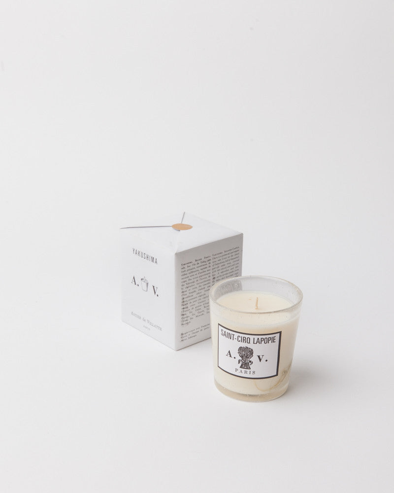 Candle in Saint Cirq Lapopie by Astier de Villatte at Mohawk General Store