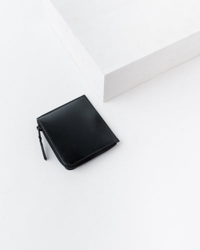 Very Black Line Wallet 3100VB in Black