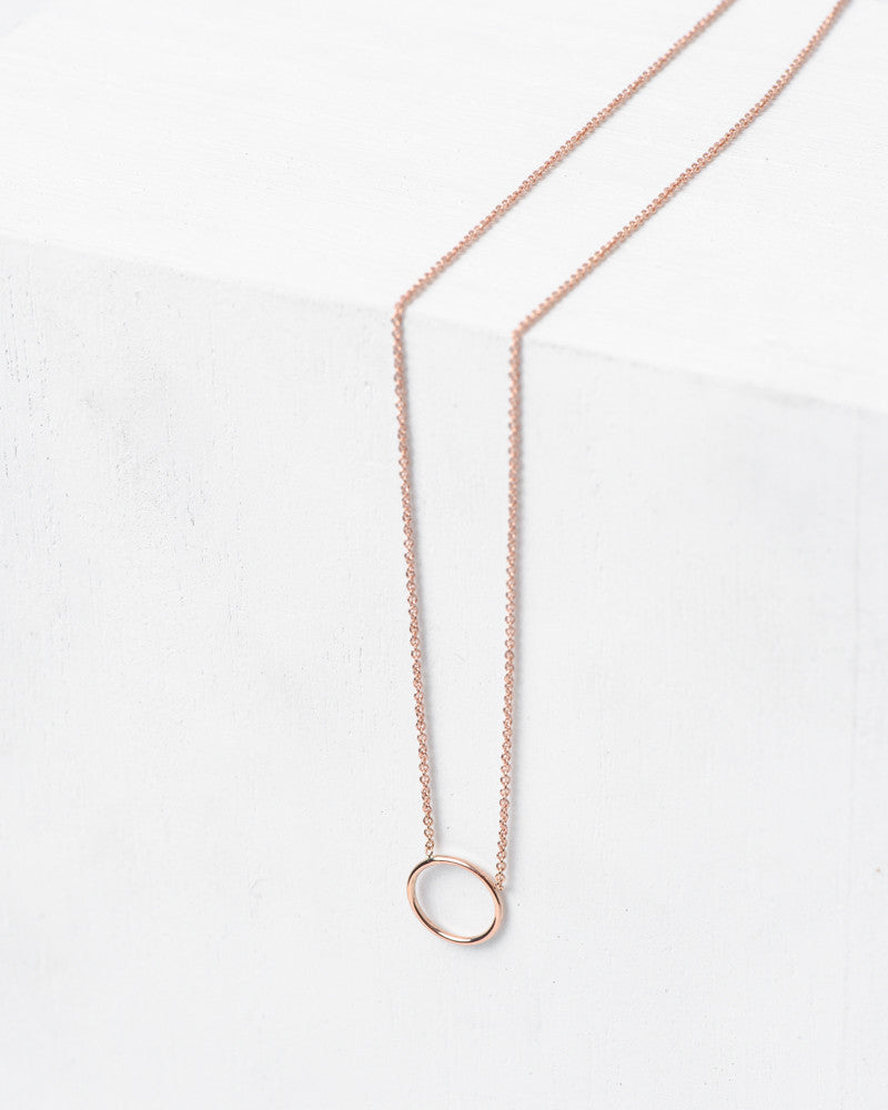 """By Myself"" Necklace in 14k Rose Gold by Hortense at Mohawk General Store - 1"