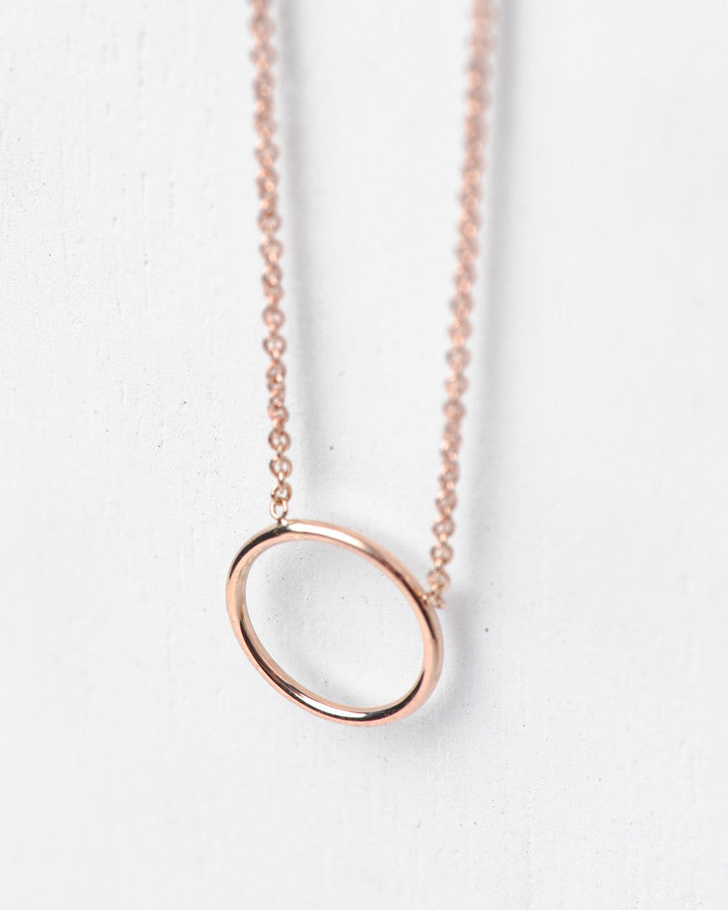 """By Myself"" Necklace in 14k Rose Gold by Hortense at Mohawk General Store - 2"