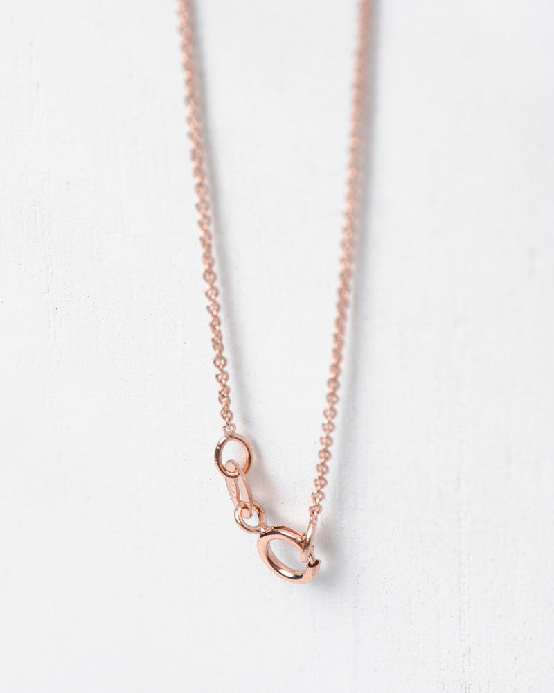 """By Myself"" Necklace in 14k Rose Gold by Hortense at Mohawk General Store - 3"