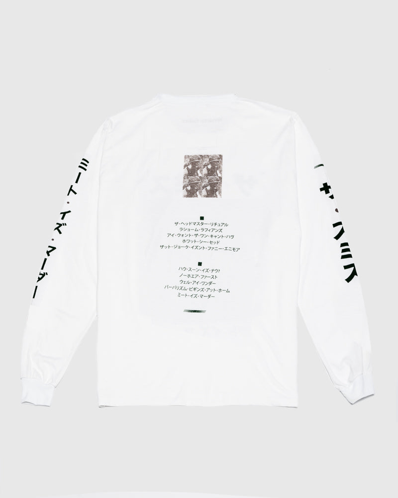 How Soon Long Sleeve Tee in White by Versions Galore at Mohawk General Store