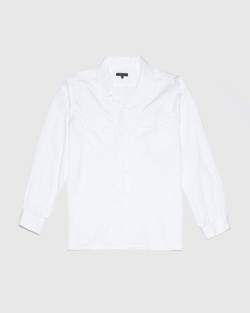 Classic Shirt in White by Engineered Garments at Mohawk General Store
