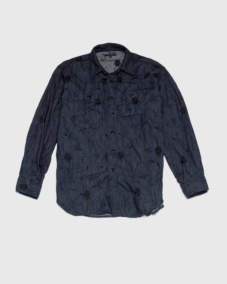 Work Shirt in Indigo