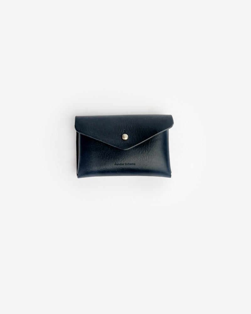 One Piece Card Case in Navy by Hender Scheme- Mohawk General Store