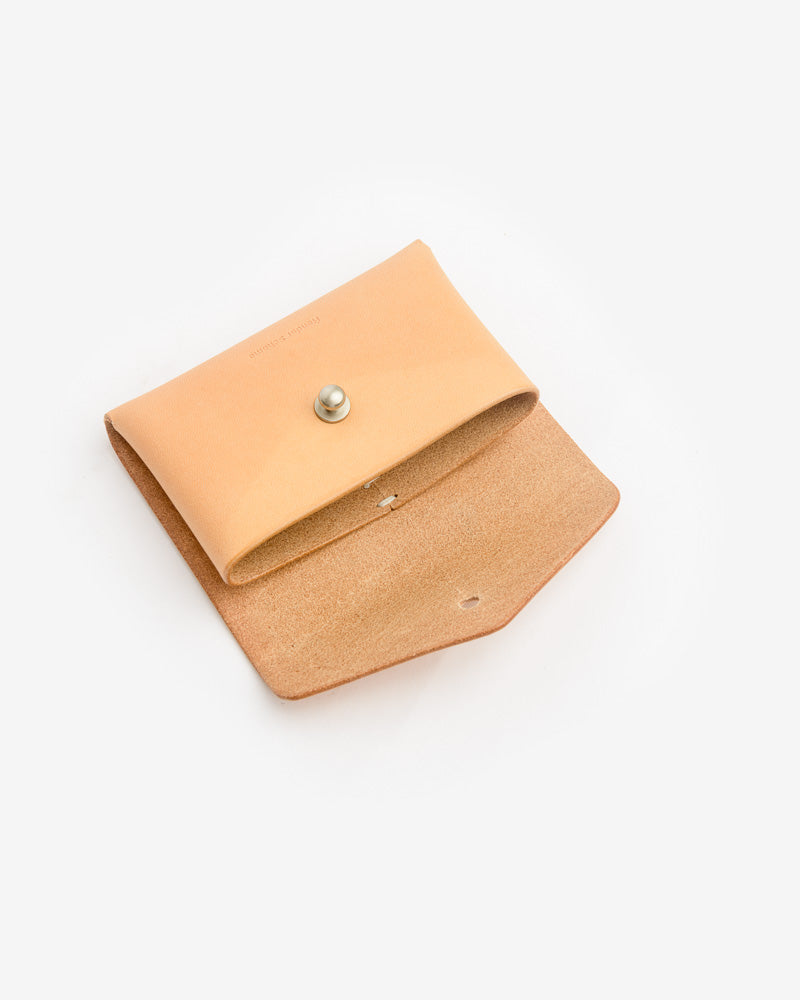 One Piece Card Case in Natural by Hender Scheme- Mohawk General Store
