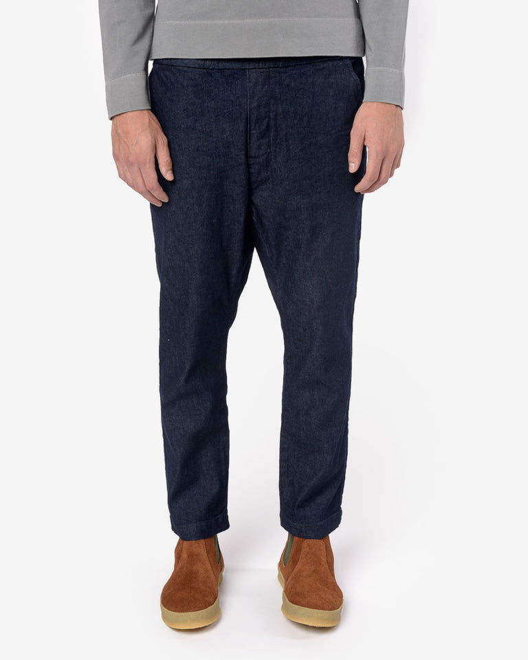 Yoyogi Pant in Dark Indigo