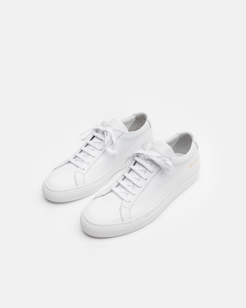 Original Achilles Low 3701 in White by Common Projects Mohawk General Store