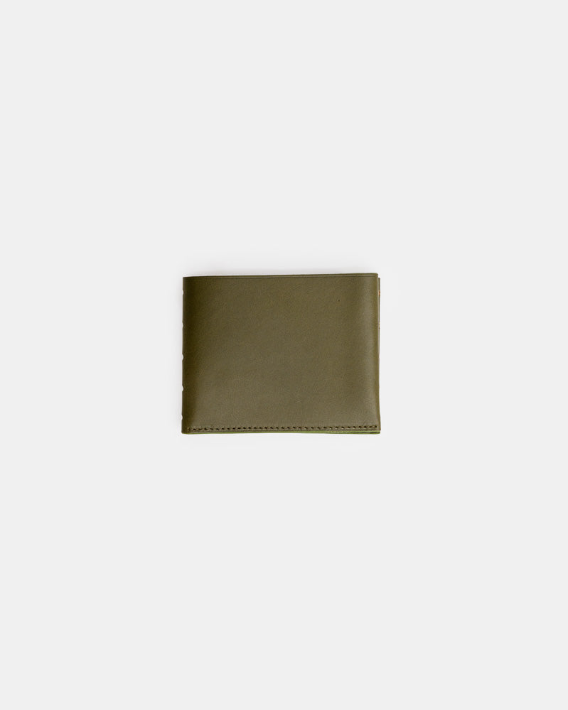 Perforated One Leaf Wallet in Green Tea by Isaac Reina- Mohawk General Store