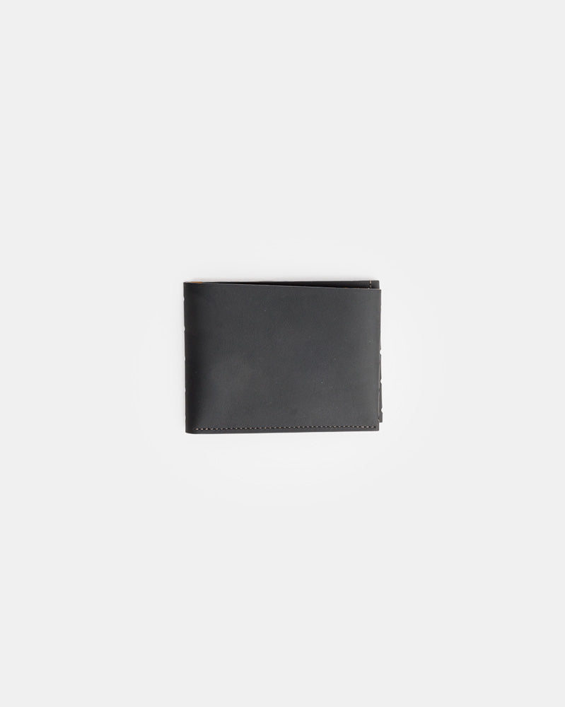 Perforated One Leaf Wallet in Carbon by Isaac Reina- Mohawk General Store