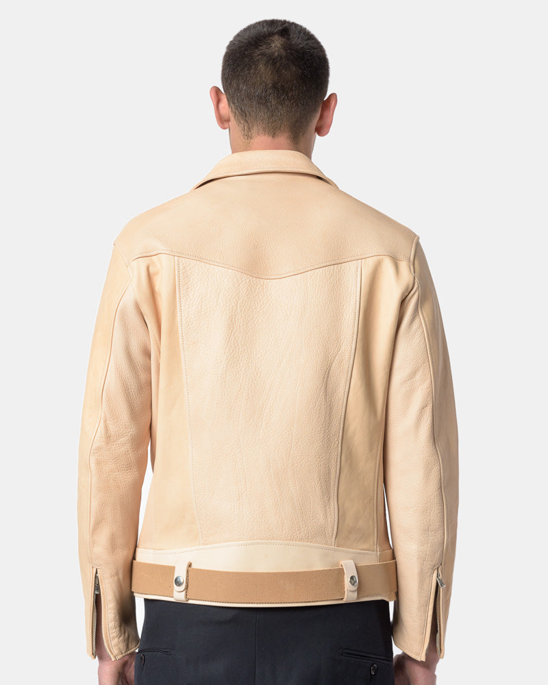Leather Jacket in Natural