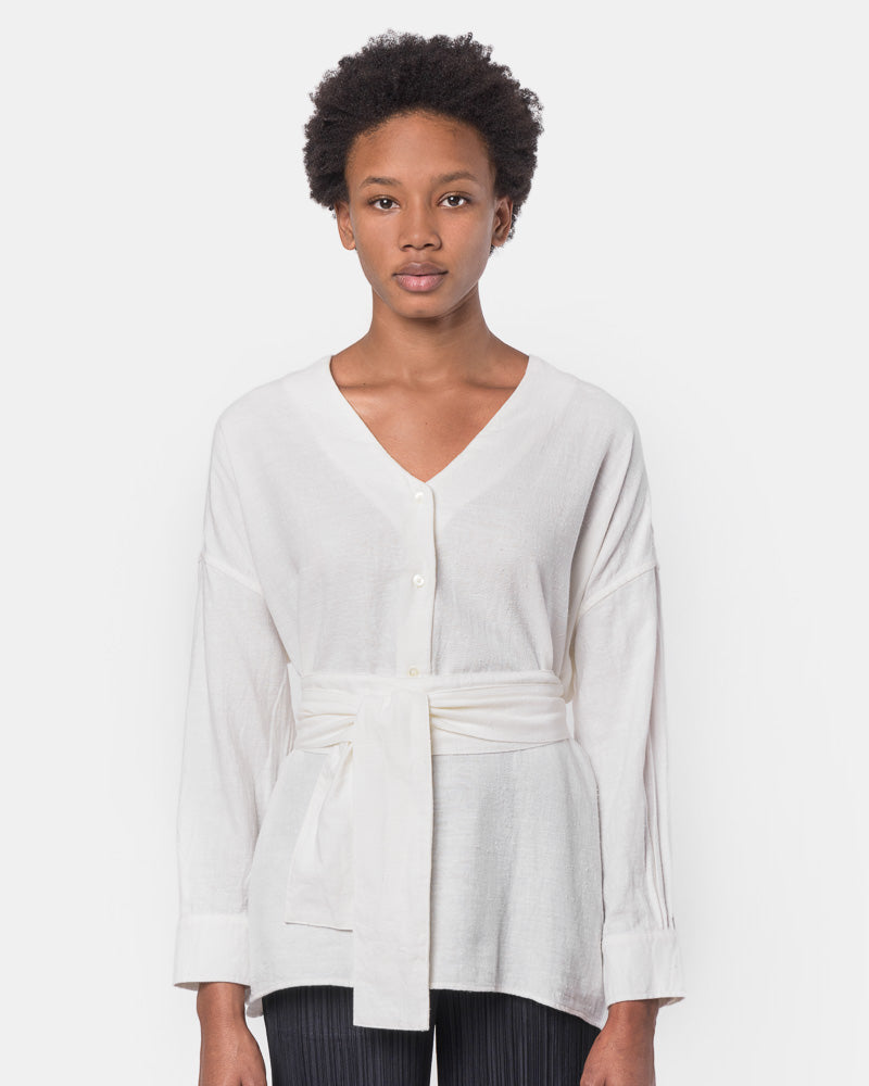 Koto Shirt in White by SMOCK Woman- Mohawk General Store