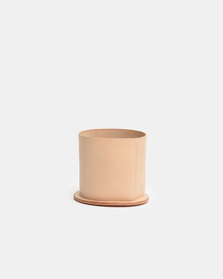 Leather Cup in Natural