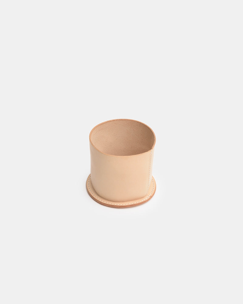 Leather Cup in Natural by Hender Scheme- Mohawk General Store