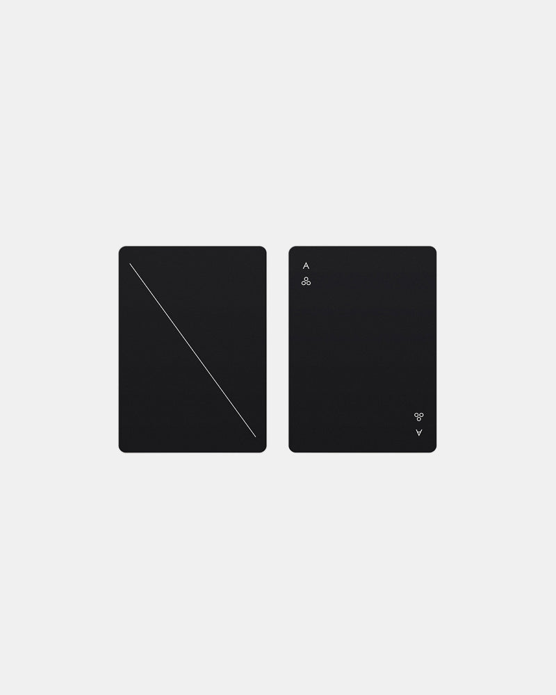 Minim Paying Cards in Black by Areaware- Mohawk General Store