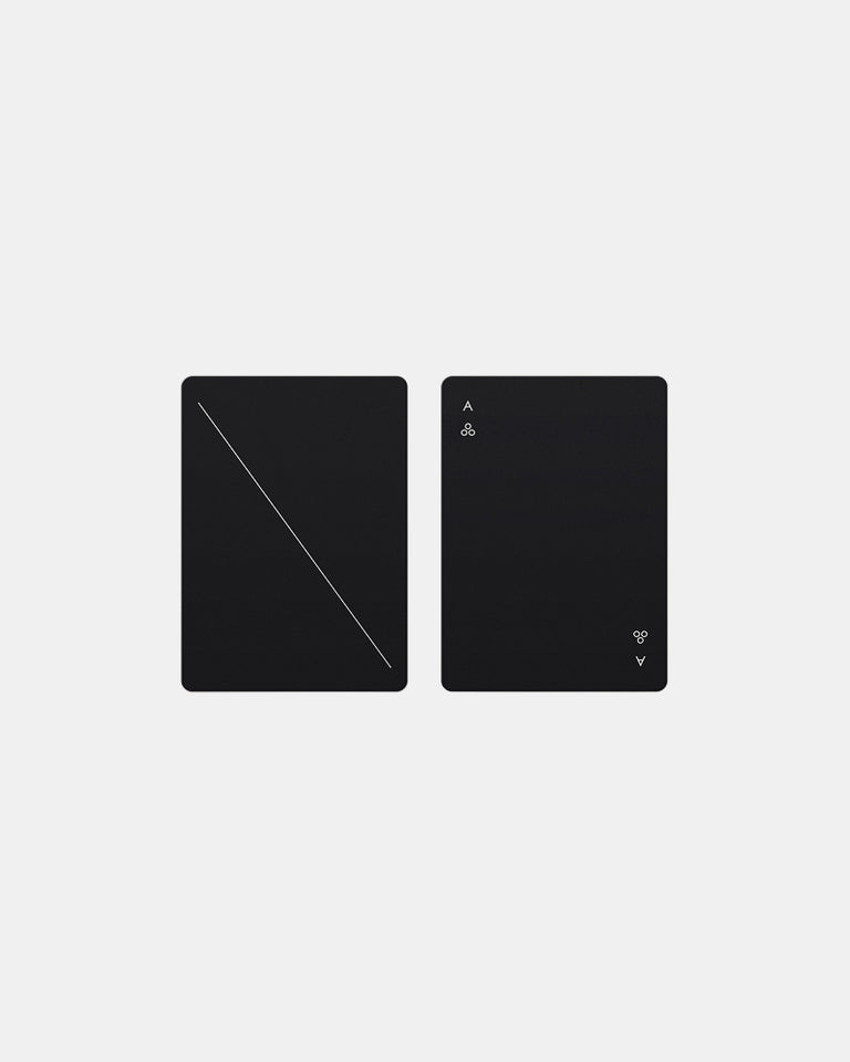 Minimal Paying Cards in Black