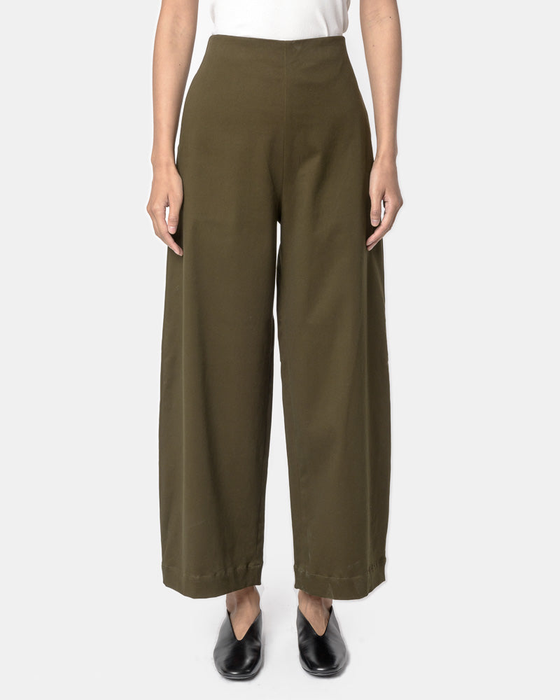 Ueno Pant in Dark Moss by SMOCK Woman- Mohawk General Store