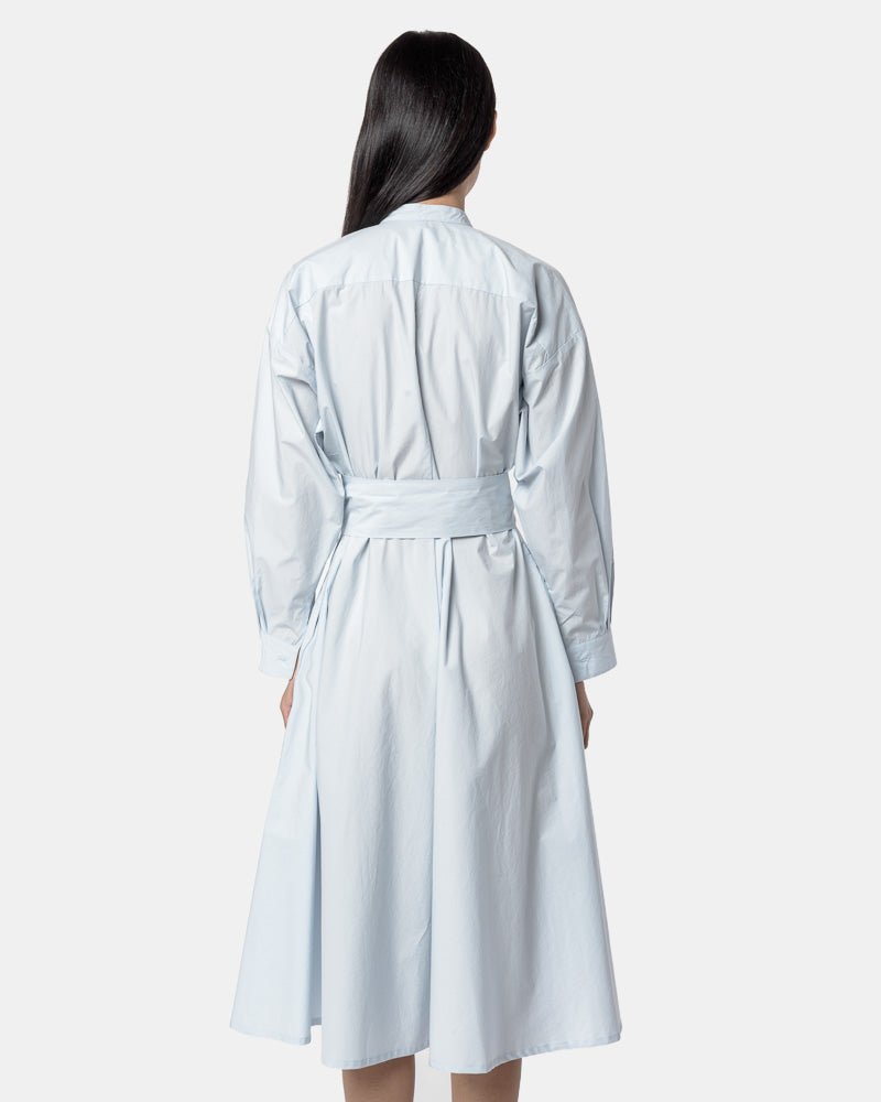 Kahlo Shirt Dress in Powder Blue by SMOCK Woman- Mohawk General Store
