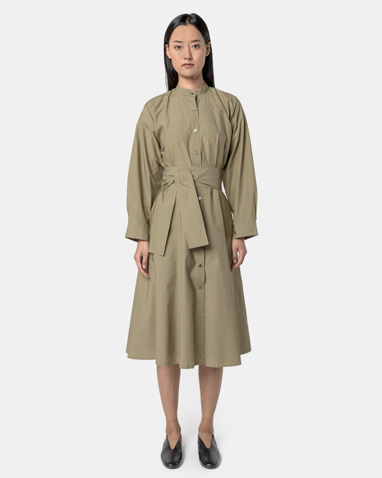Kahlo Shirt Dress in Taupe