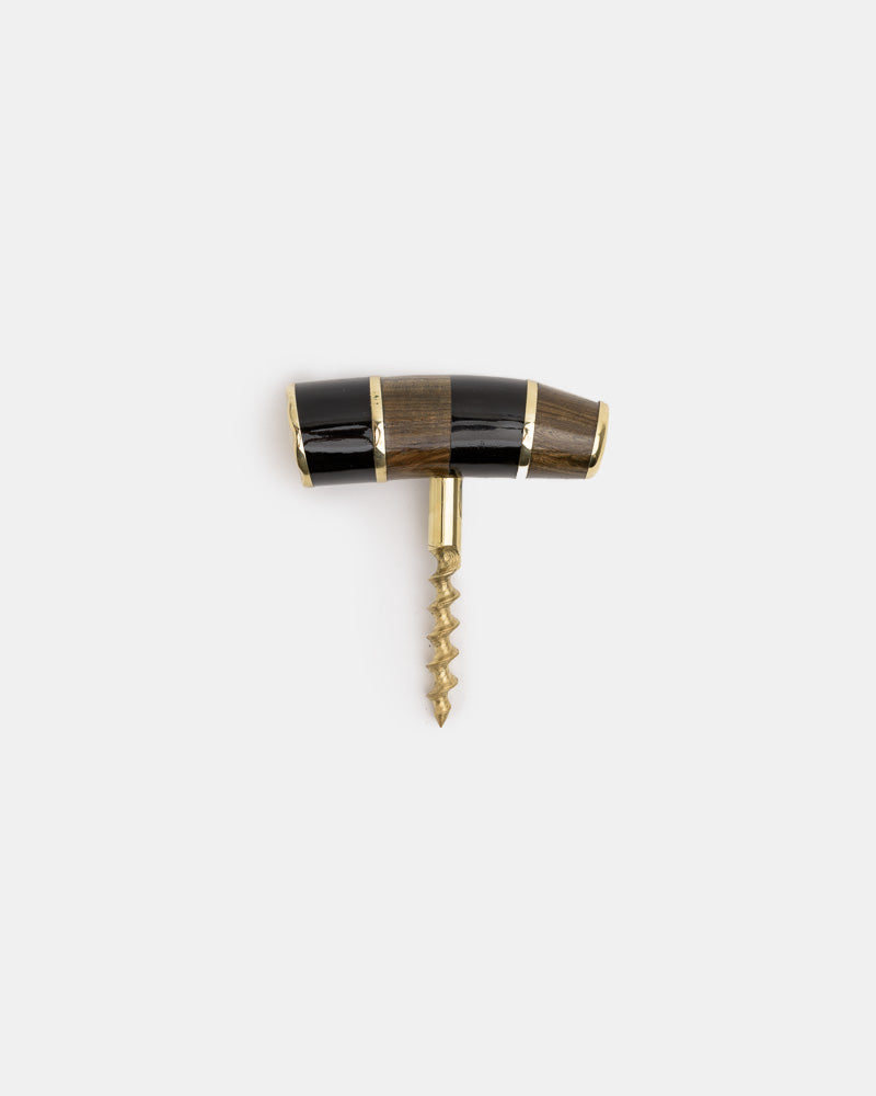 Signature Corkscrew 1 in Horn & Wood by Poglia&Co- Mohawk General Store