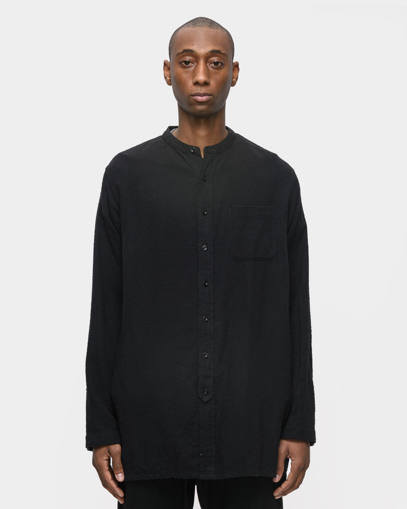 Fozzy Overshirt in Black by SMOCK Man- Mohawk General Store