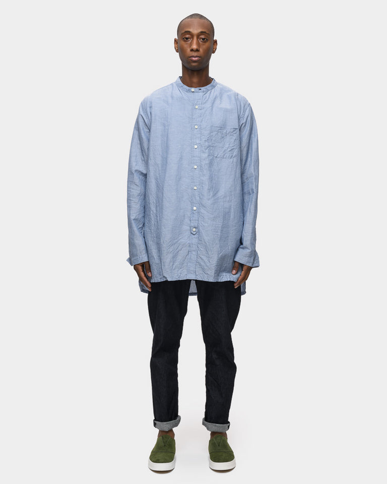 Overshirt in Sea Blue