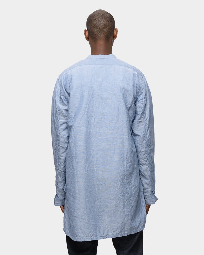 Overshirt in Sea Blue by SMOCK Man- Mohawk General Store