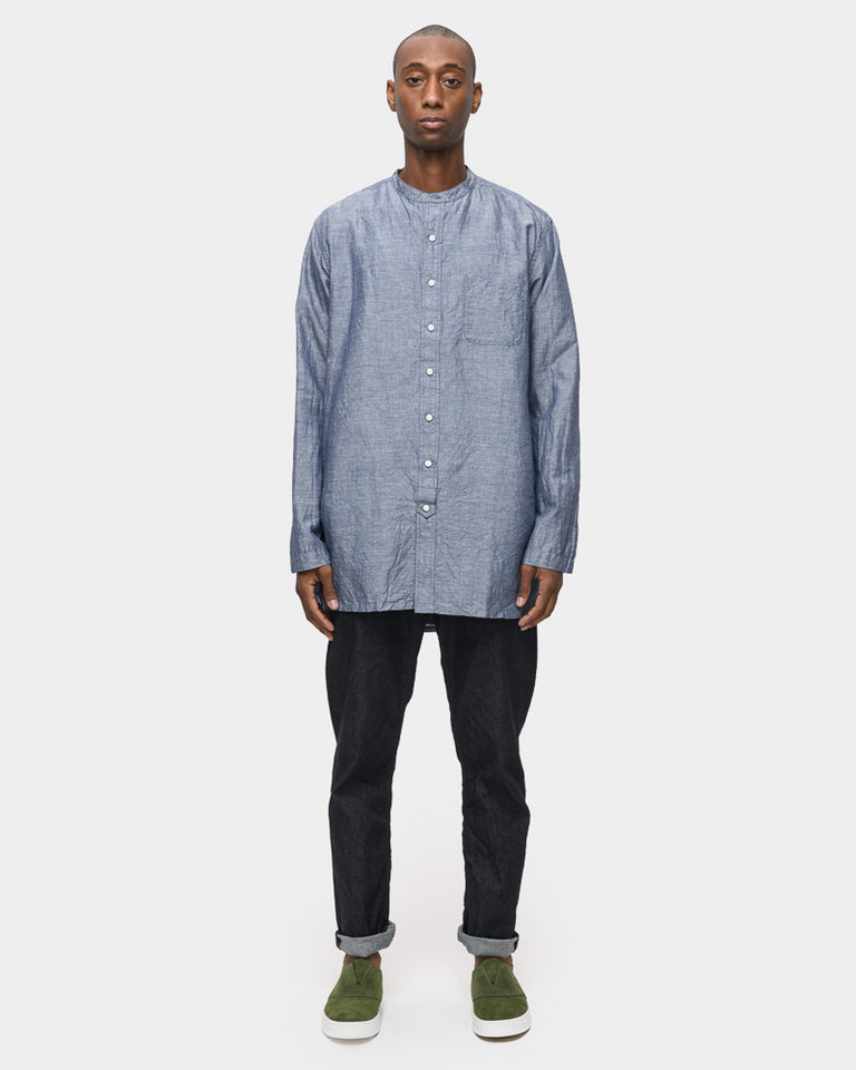 Overshirt in Dark Navy