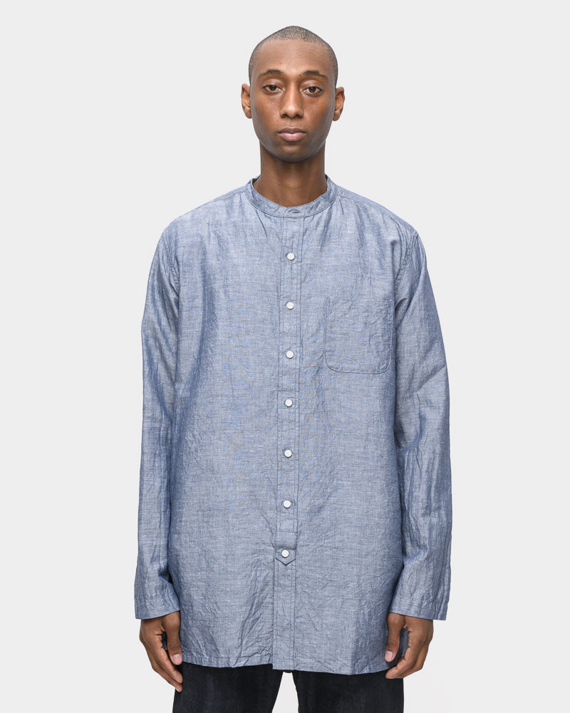 Overshirt in Dark Navy by SMOCK Man- Mohawk General Store