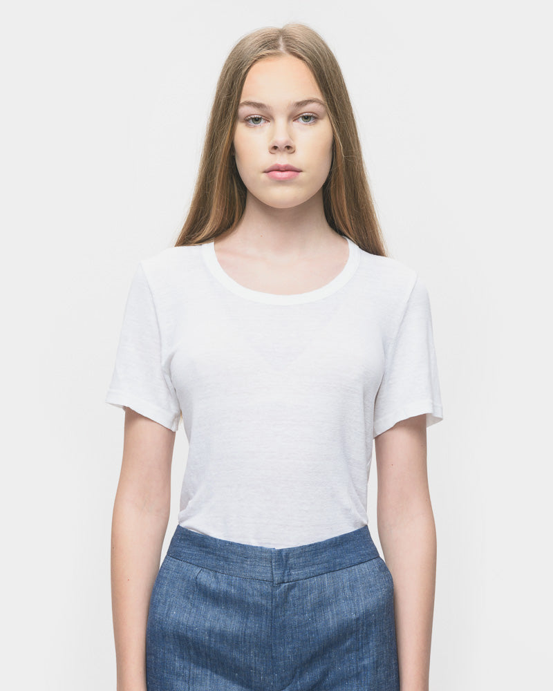 Kiliann Tee Shirt in White by Isabel Marant Étoile- Mohawk General Store