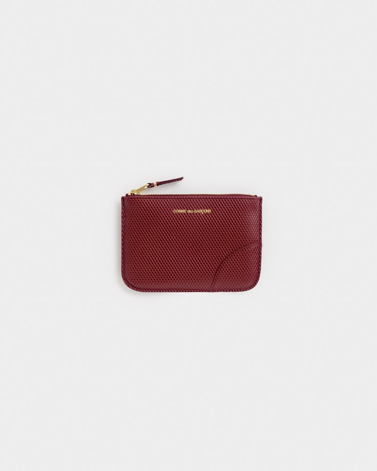 Luxury Group Wallet in Burgundy