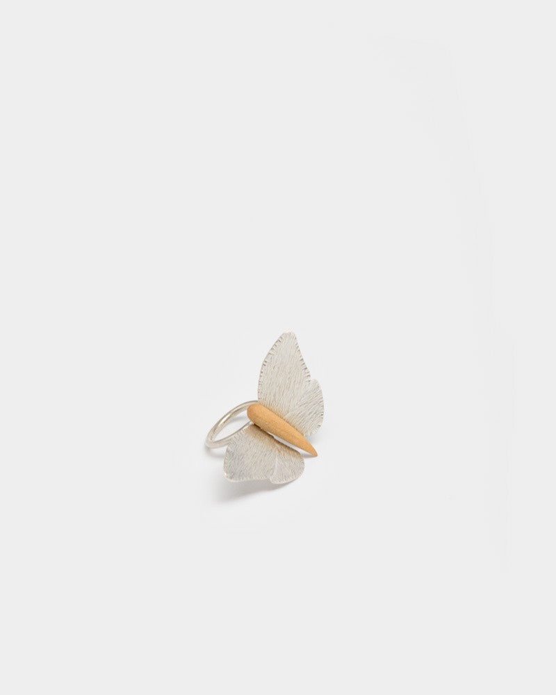 Mariposa Ring in Silver by Beatrice Valenzuela- Mohawk General Store