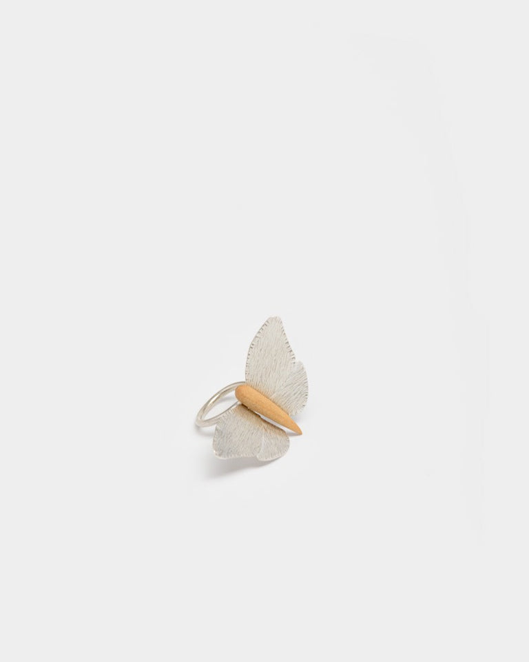 Mariposa Ring in Silver