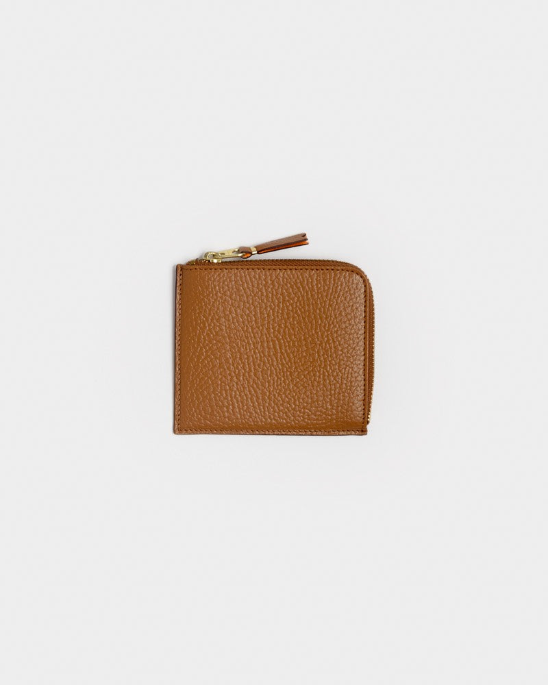 Color Inside Wallet 3100IC in Brown by Comme des Garçons Wallet at Mohawk General Store