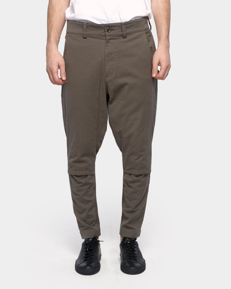 Zip Pant in Taupe
