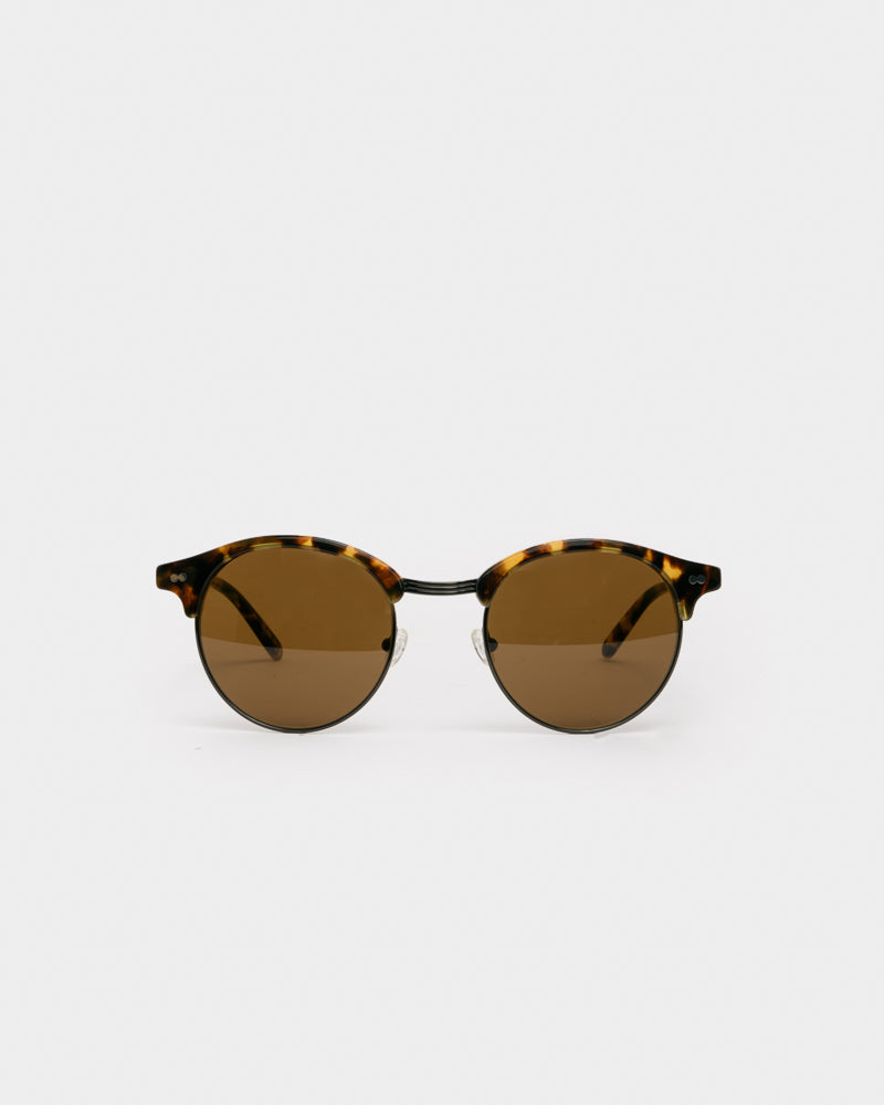AIDIM Classic Havana Sunglasses in Gunmetal Brown by Moscot- Mohawk General Store
